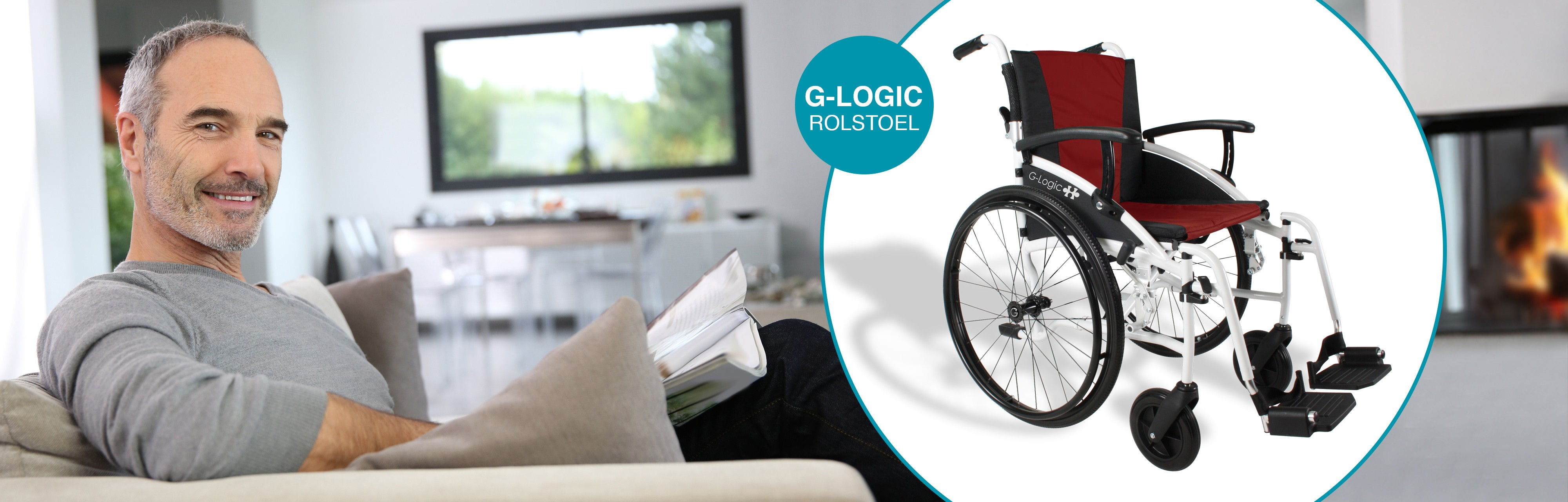 G-Logic rolstoel