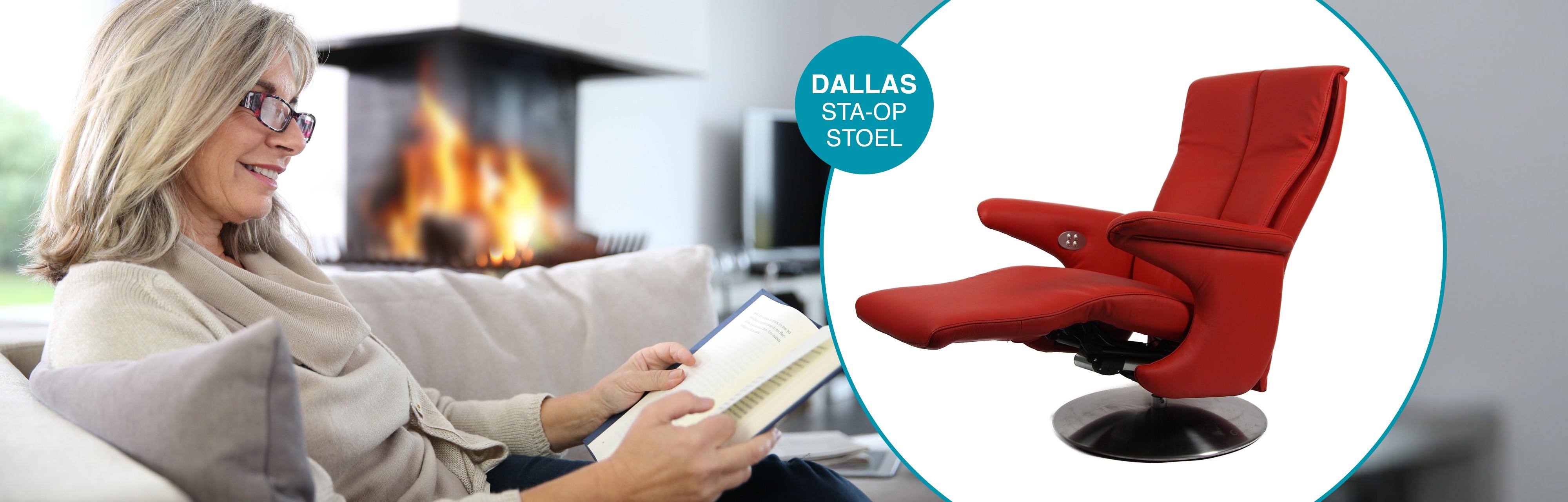 Dallas Sta-op-stoel